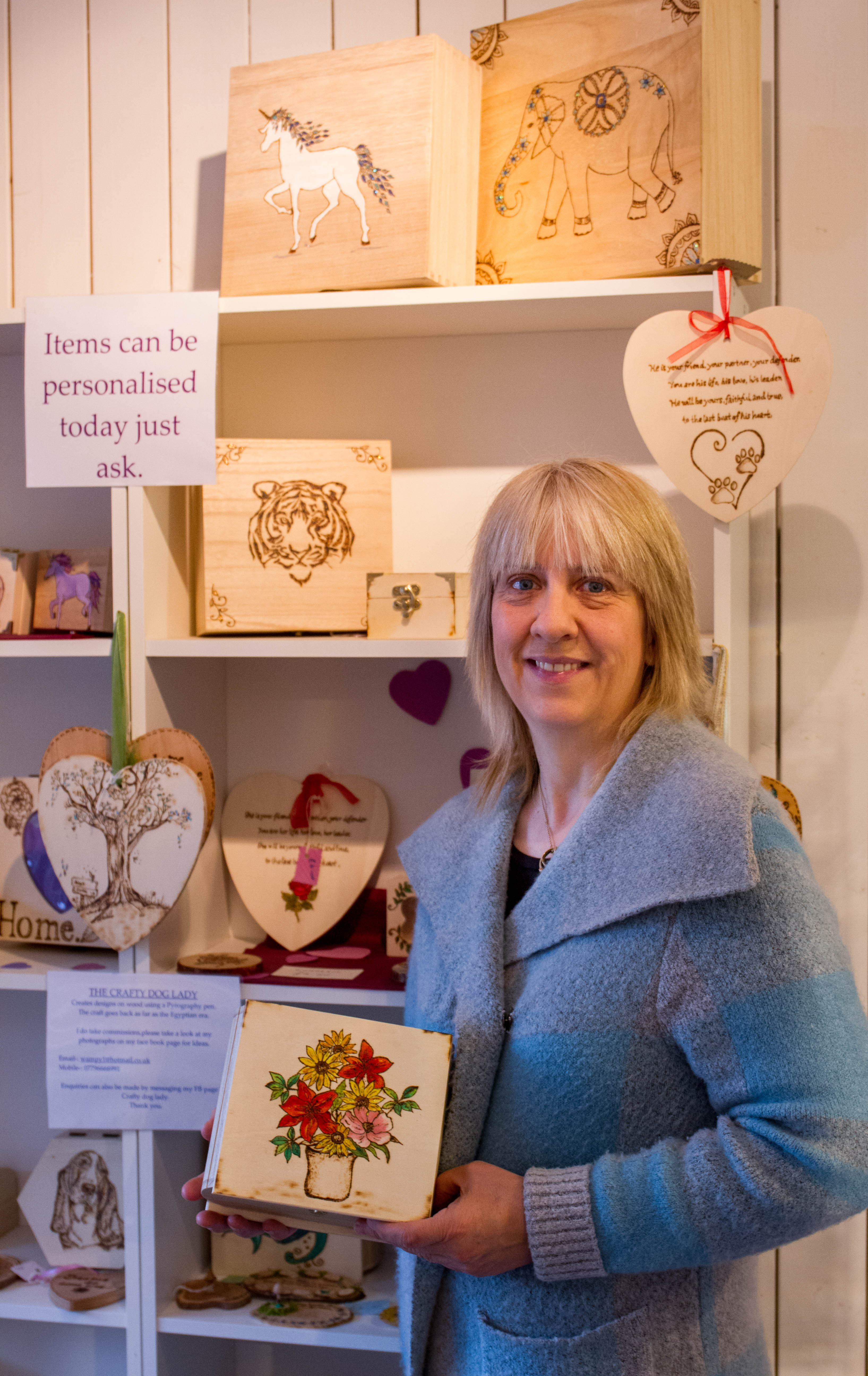 Image for Chamber helps 'Crafty Dog Lady' rebuild her life and get business up and running