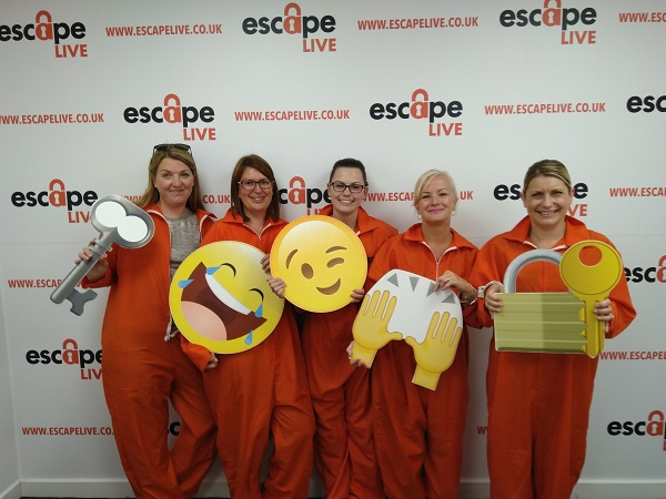 Chamber staff Escape after being locked in by a member!