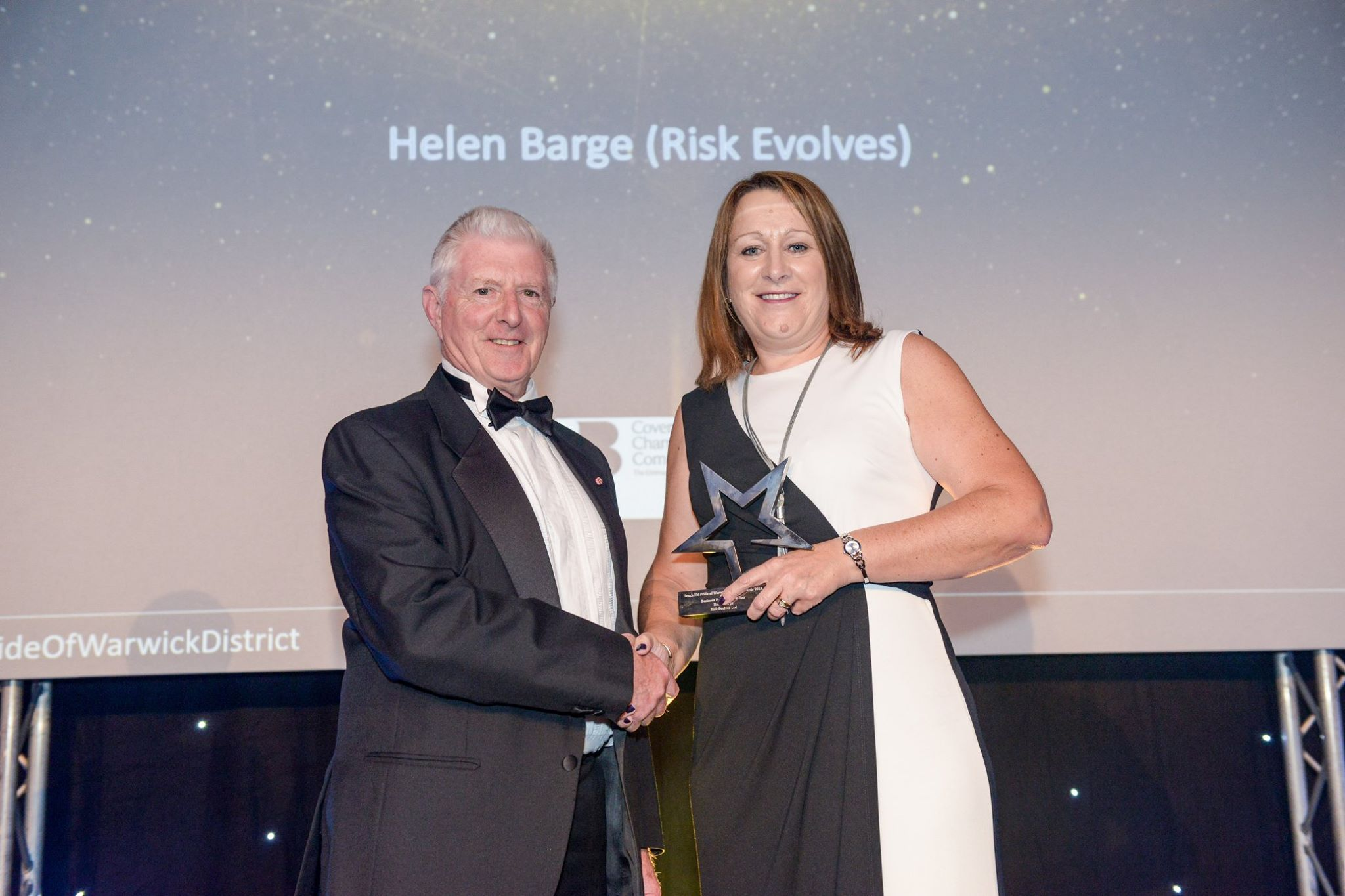 Image for Leamington Woman wins Business Person of the Year Award just three years after setting up her own risk management company