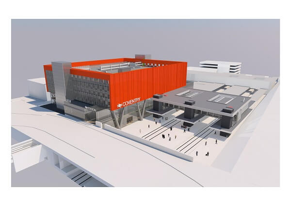 Ambitious £93.8 million Coventry station and Upper Precinct plans approved