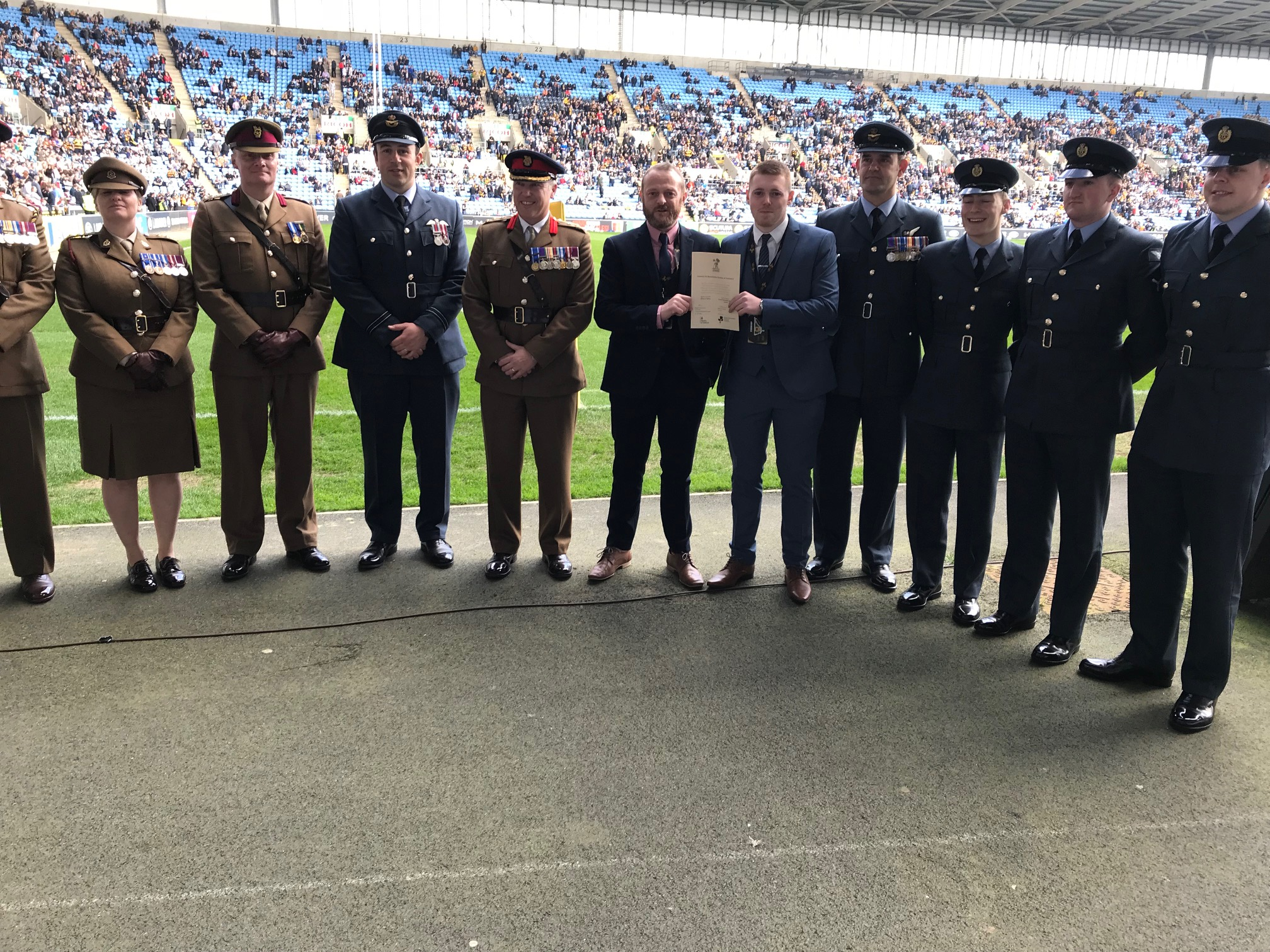 Chamber pledges support to Armed Forces