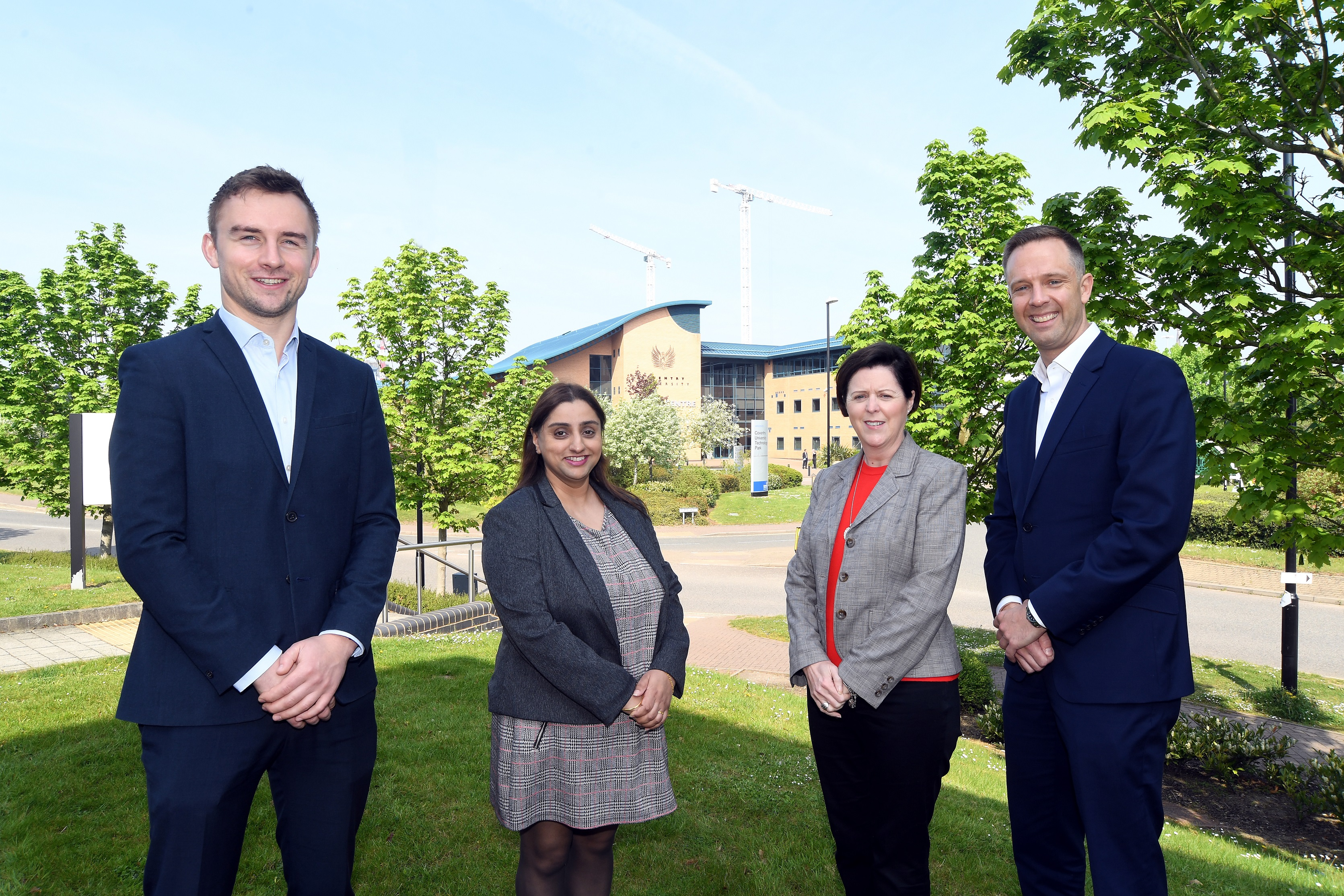 A technology park close to Coventry city centre is close to capacity after welcoming its latest tenant.