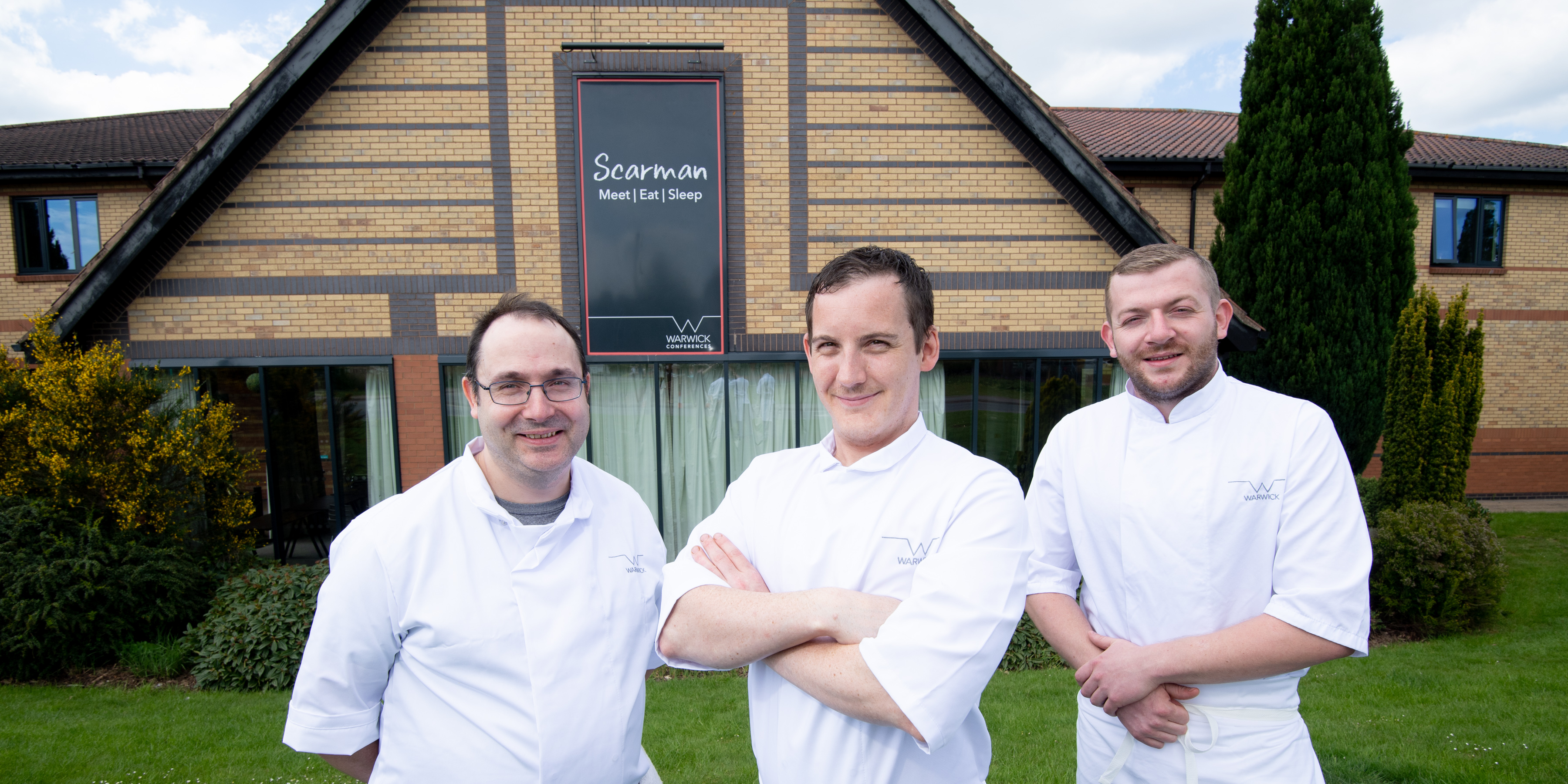 Image for Trio of chefs at Warwick Conferences set for international competition