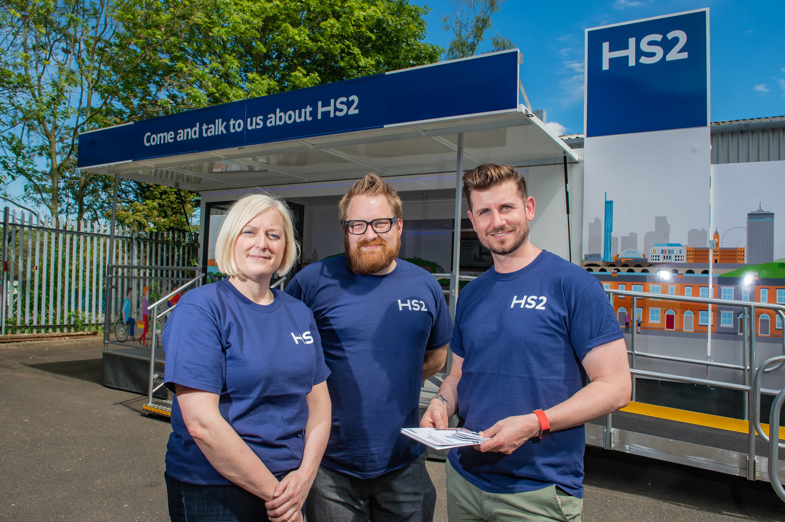 Image for HS2 pop-up engagement space arriving in Coventry & Warwickshire