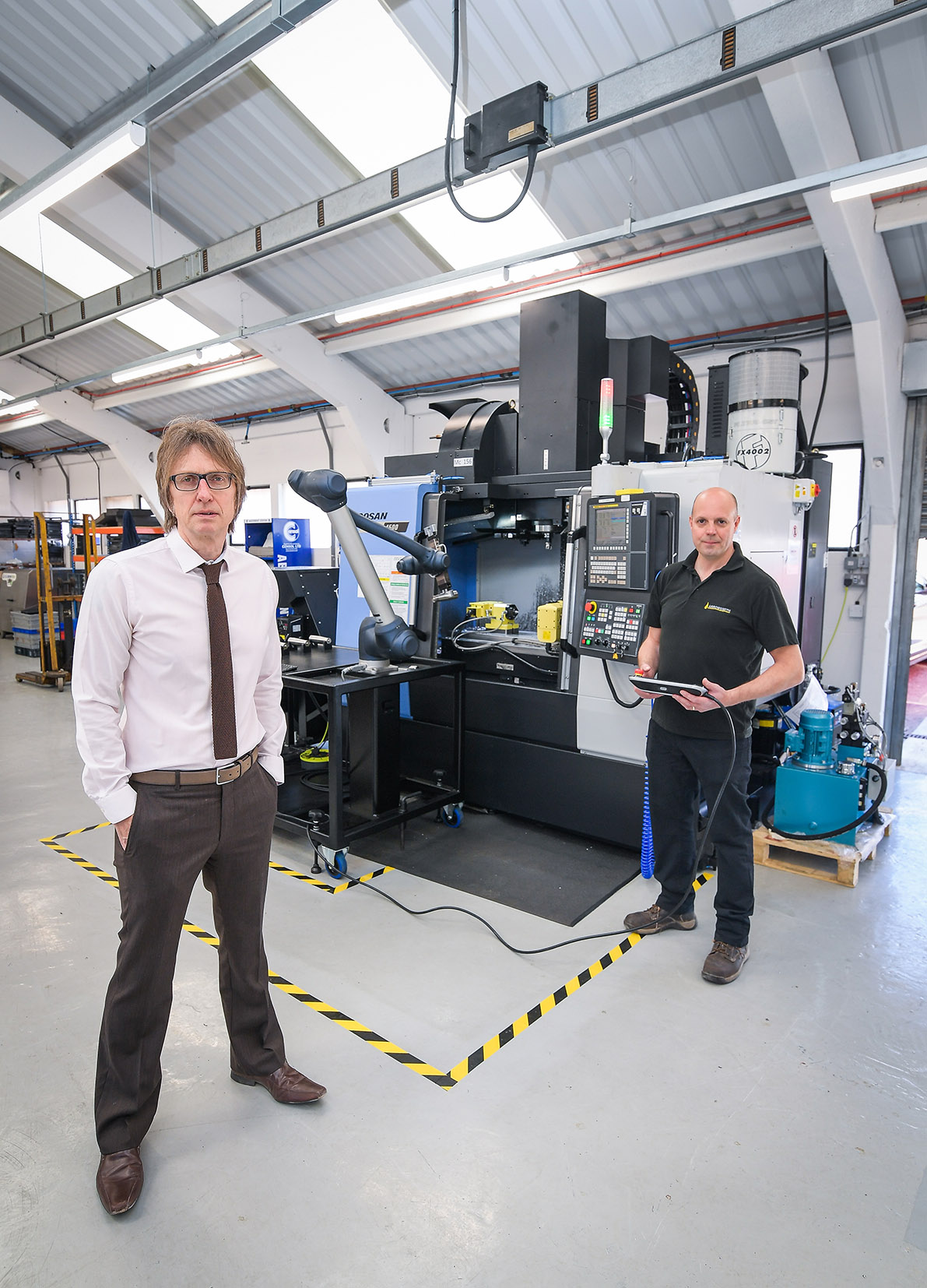 £200,000 robotic investment helps Coventry aerospace specialist deliver sales and jobs