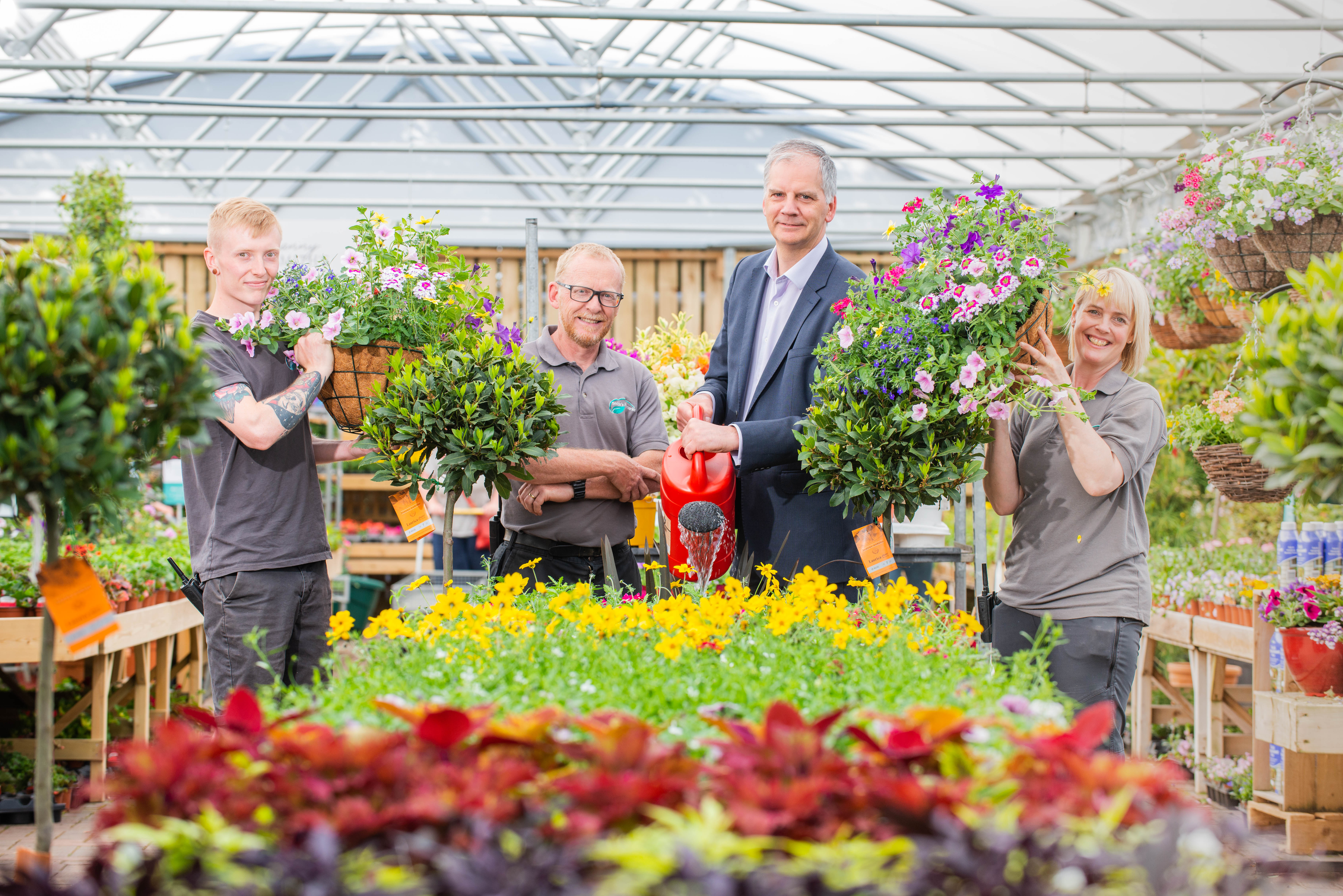 Image for Popular family run garden centre brings in fourth generation to help growth