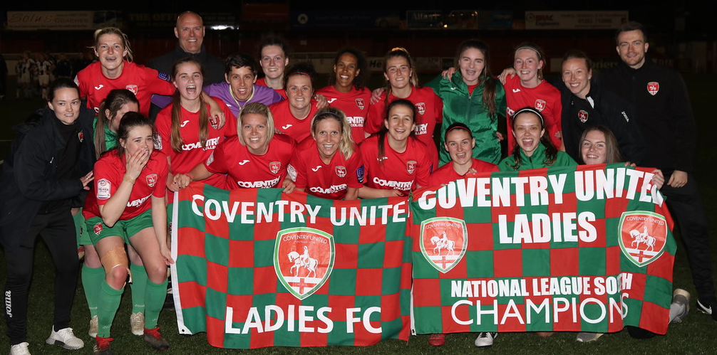 Image for Coventry United Ladies Promoted to Championship