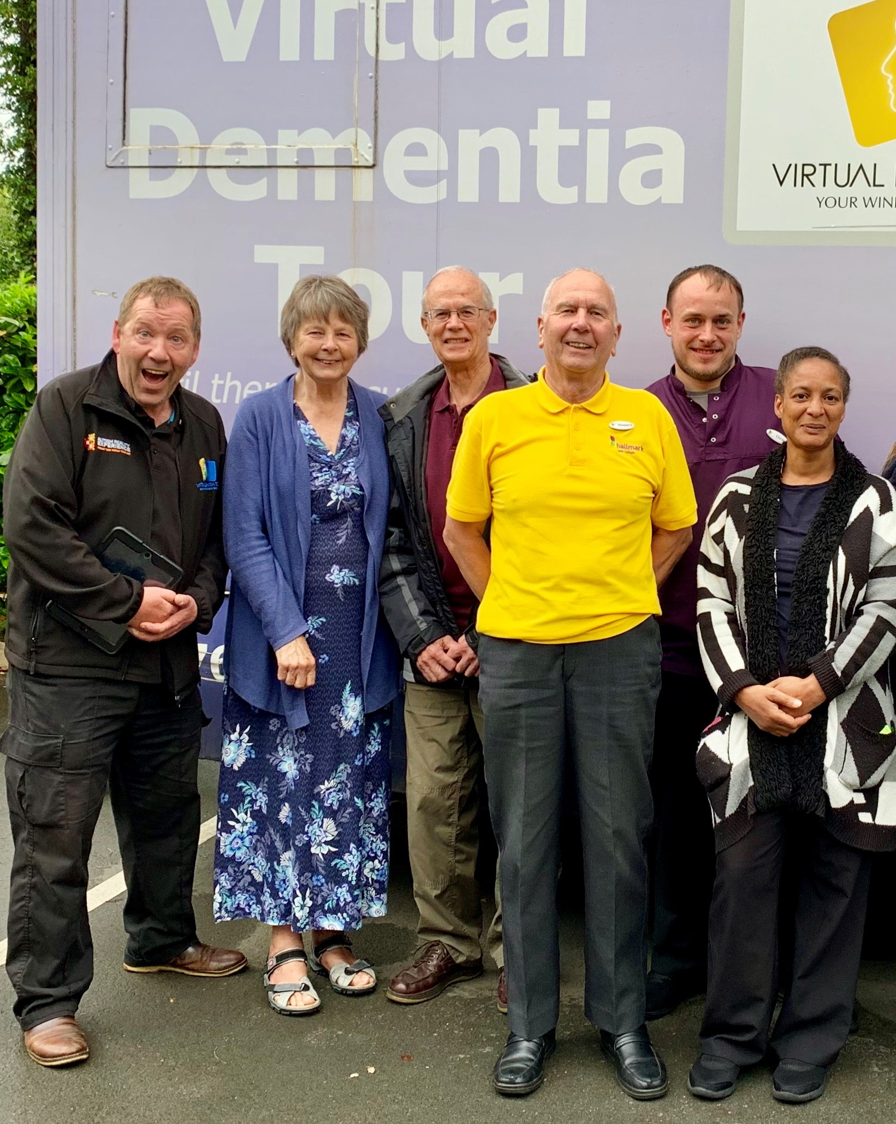Rugby care home hosts Virtual Dementia Tour
