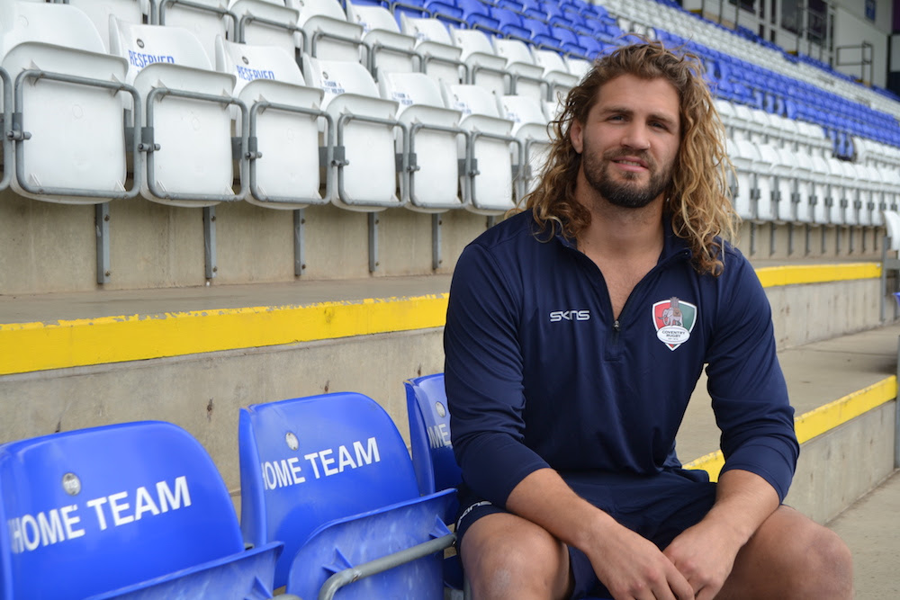 Image for Wallace signs on at Coventry Rugby