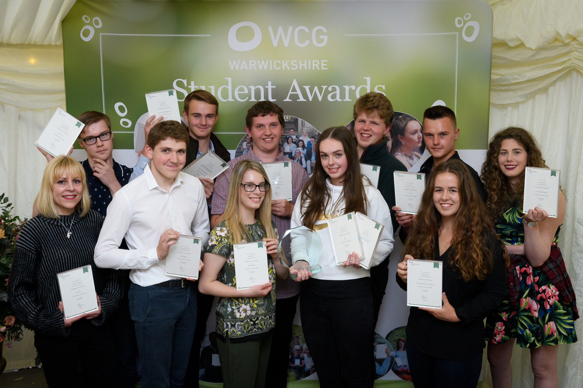 Students celebrated at special awards ceremonies