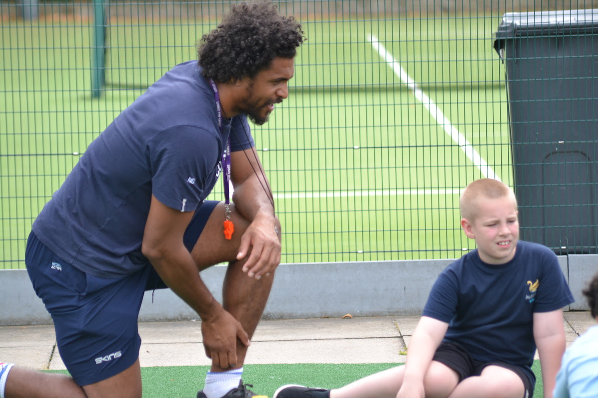 Image for Coventry Rugby making a difference at Avon Park School
