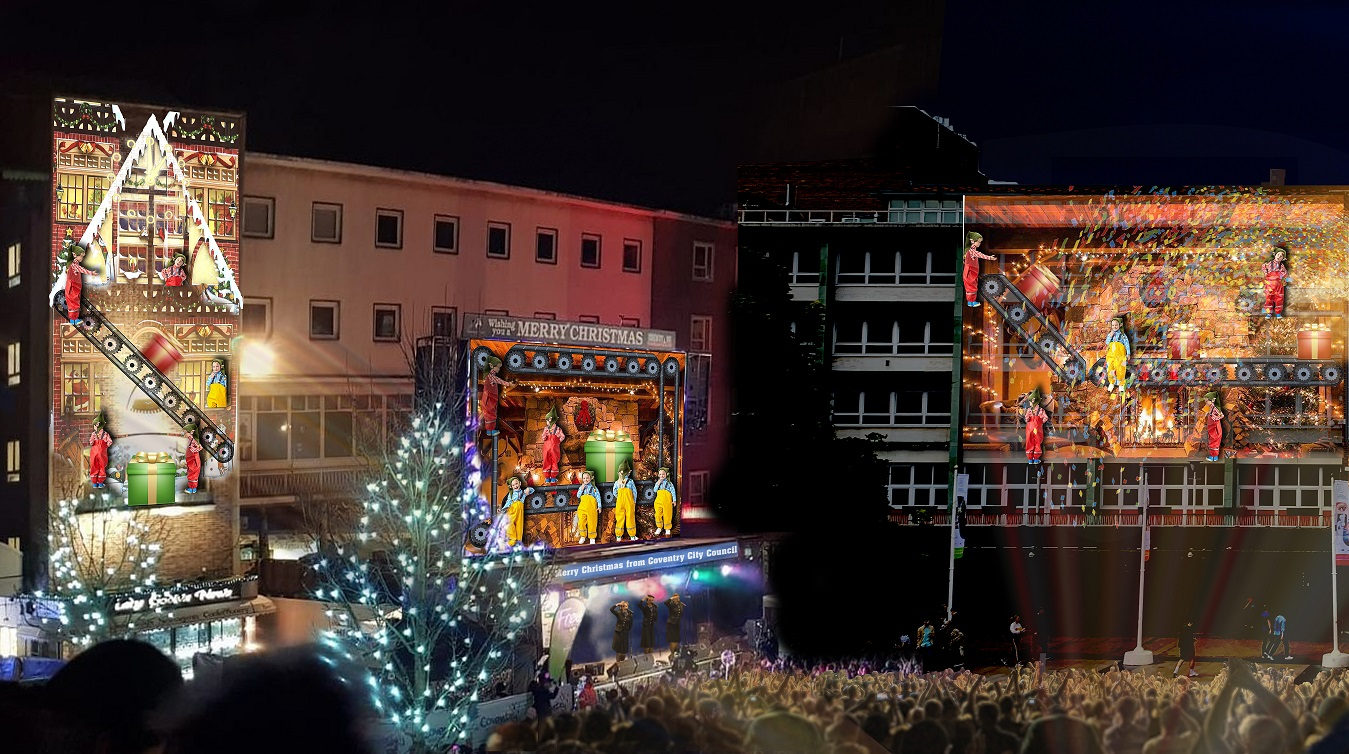 Image for Amazing lighting and animation show to light up festive Broadgate!