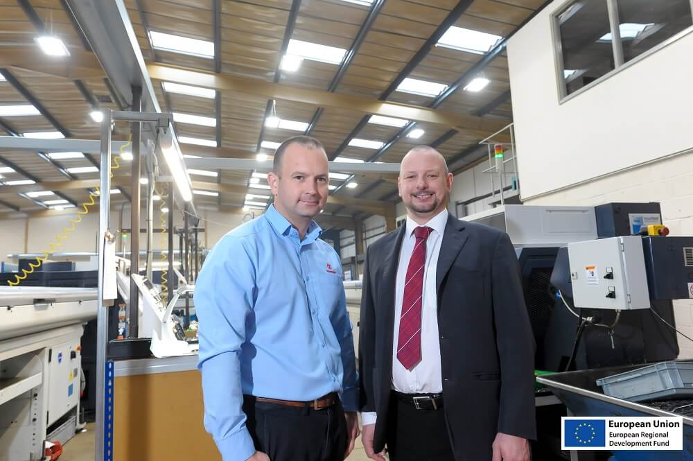 Image for Engineering firm upgrades its lighting and heating to go green