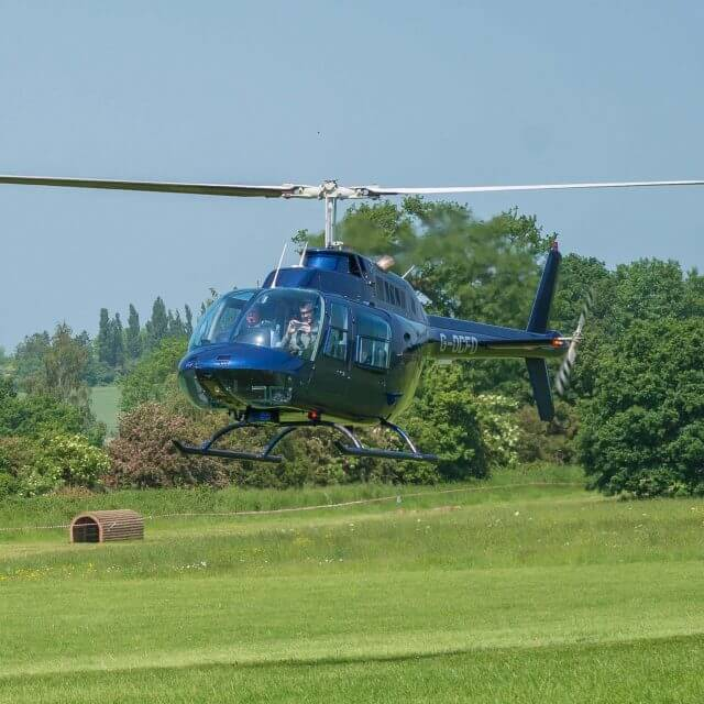 See stunning aerial scenes of the Warwickshire countryside as helicopter tours are launched at Coombe Abbey Hotel
