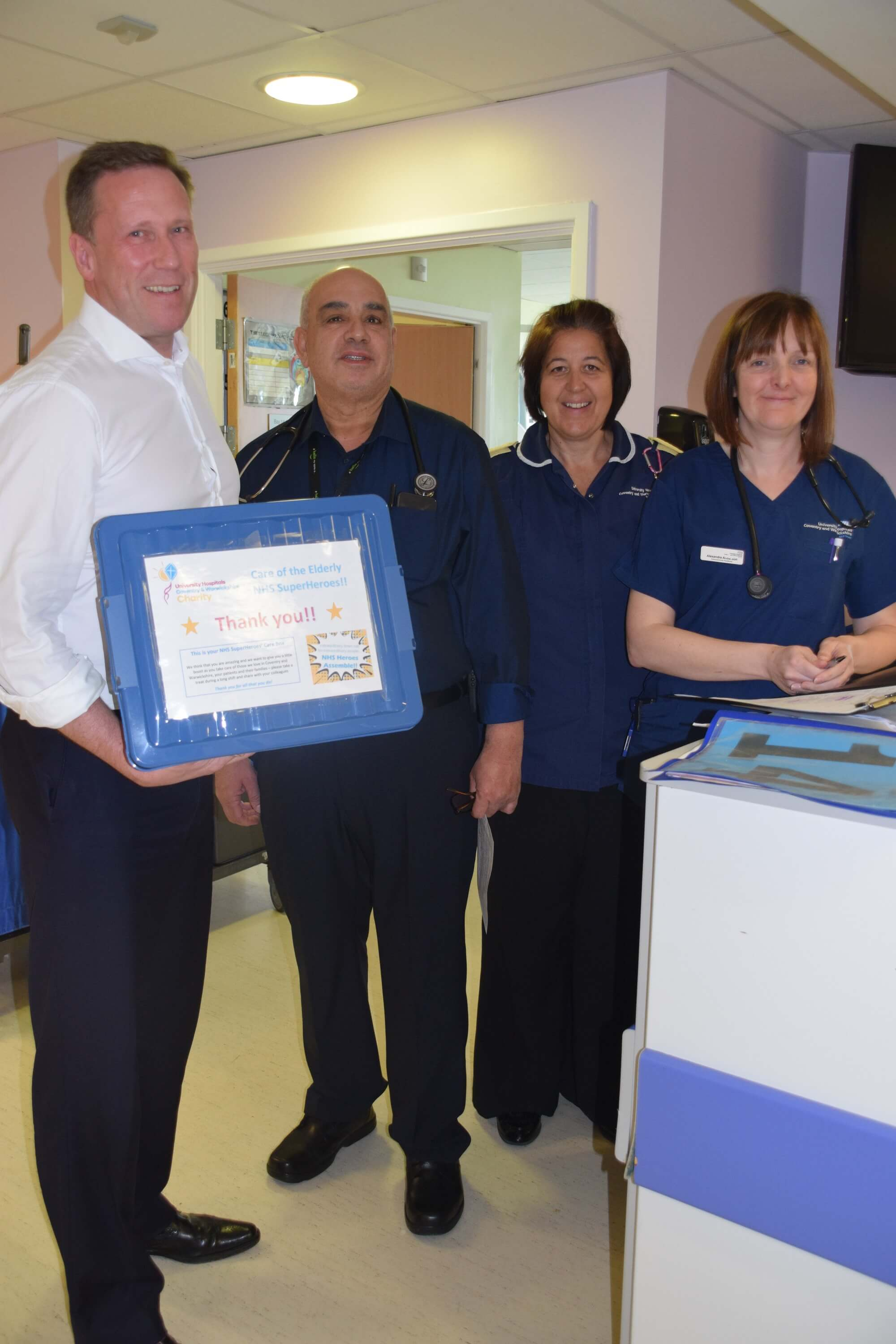 Image for Local charity is creating care boxes for front-line NHS staff and has already raised over £1,000