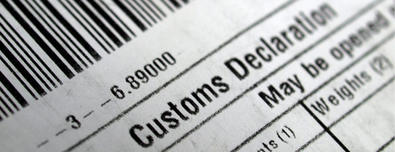Image for Customs Declaration Services